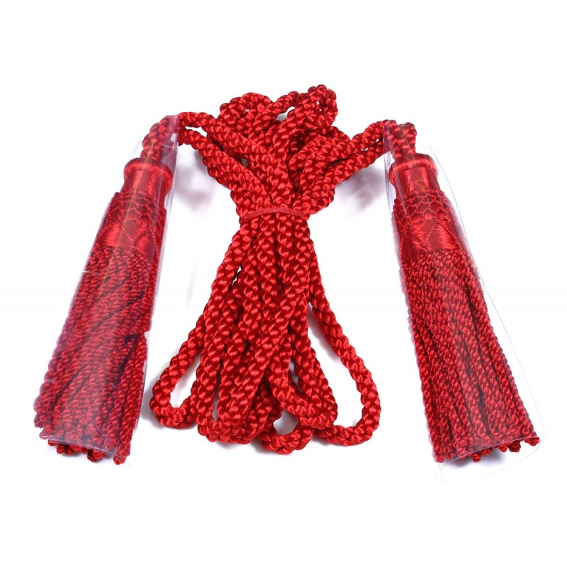 Burgundy SILK CORDS FOR BAGPIPES