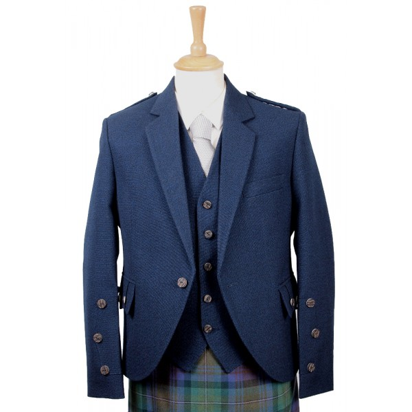 Navy Blue Arrochar Tweed Jacket