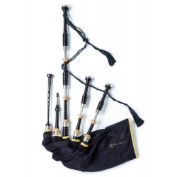 PH2HT Heritage Silver Bagpipes