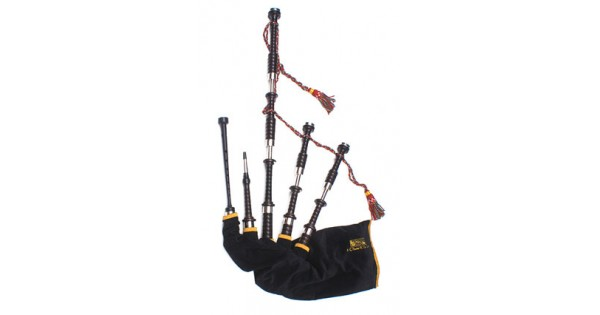 Wind & Woodwind Official Website Rg Hardie Weather Resistant Black Pipe Bag Cover Highland Bagpipes