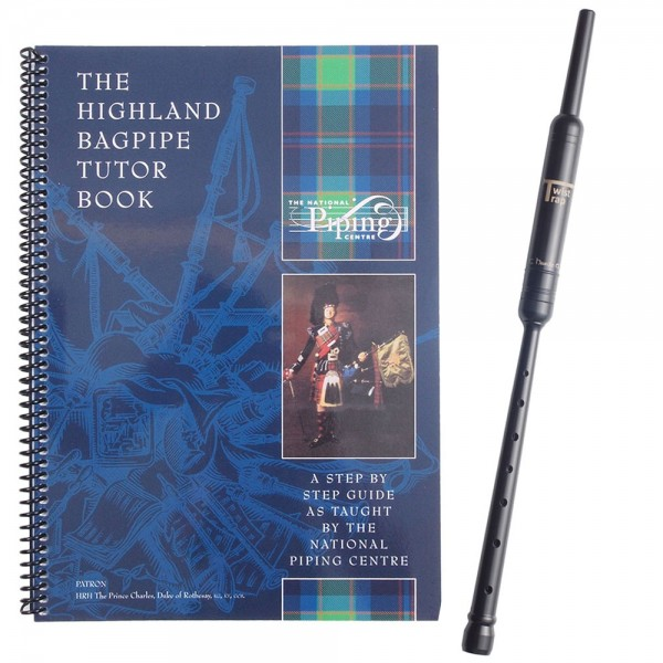 National Piping Centre Tutor Book 1 With Chanter