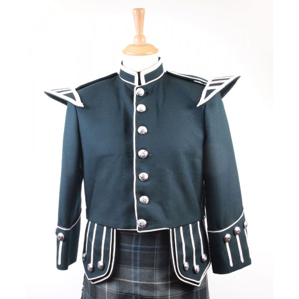Green and Silver Military Doublet - 40S